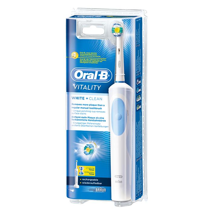 20d9ca4eeed BRAUN Oral-B Vitality White & Clean elektriline hambahari — Iluversum