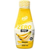 6PAK Syrup Zero, Banaani (400 ml)