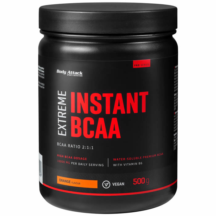 Body Attack Instant BCAA Extreme, Apelsini (500 g). Parim enne 30.10.2019