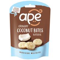 Ape Snacks Crunchy Coconut Bites kookoseampsud, Naturaalne (30 g)