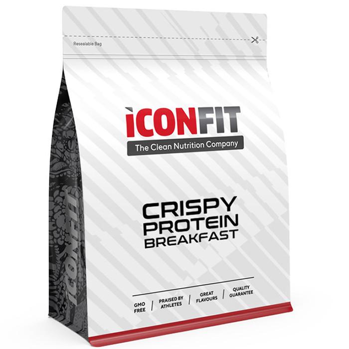 ICONFIT Crispy Protein Breakfast, Kookose-mustsõstra (500 g / 10 Toidukorda)