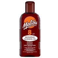 Malibu SPF 8 Bronzing Tanning Oil pruunistajatega päevitusõli (200 ml)
