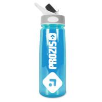 Prozis Handy Bottle kõrrega joogipudel, Sinine (600 ml)