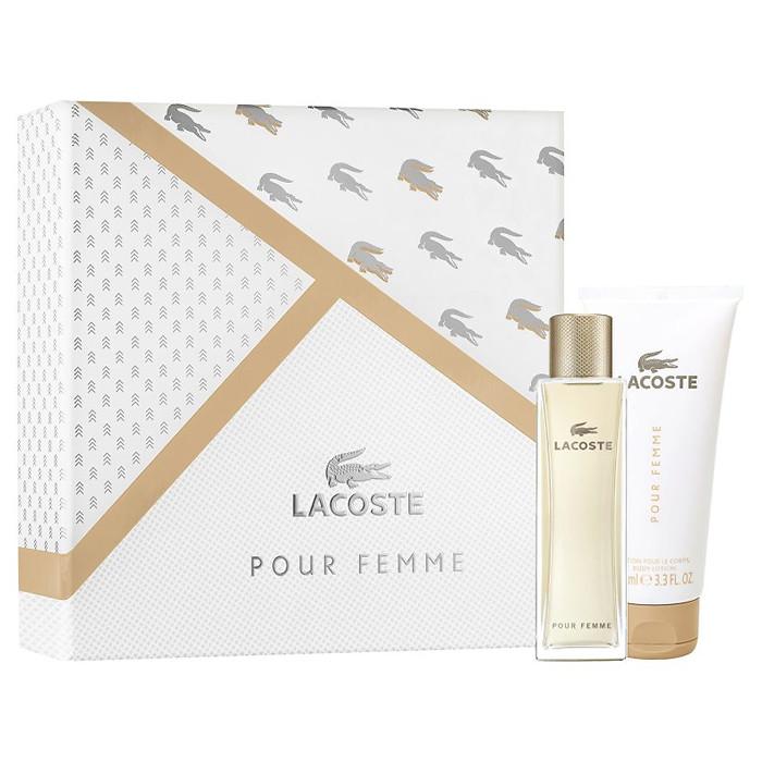Lacoste Pour Femme Set EDP (50 ml) + BLO (100 ml)