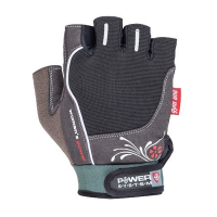 Power System Gloves Woman's Power treeningkindad, Must (M)