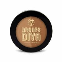 W7 Bronze Divas Bronzing Powder päikesepuuder, Bronzed (14 g)