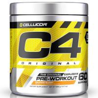 Cellucor C4 Original Pre-Workout, Orange Burst (60 serveeringut)
