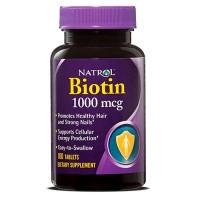 Natrol Biotin 1000 mcg tabletid (100 tk)