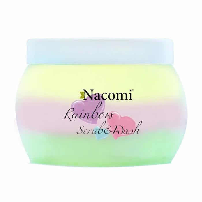 Nacomi Rainbow kooriv dušigeel, Sweet Watermelon (200 ml)