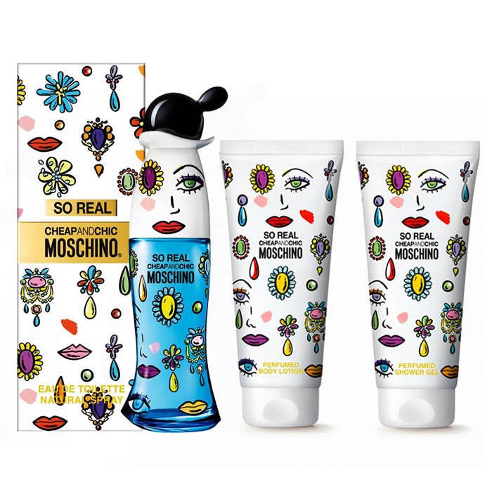 Moschino So Real Cheap & Chic EDT (50 ml) + BLO (100 ml) + SGE (100 ml)