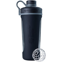 BlenderBottle Radian Glass joogipudel, Must (820 ml)