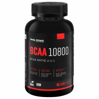 Body Attack BCAA 10800 kapslid (120 tk)