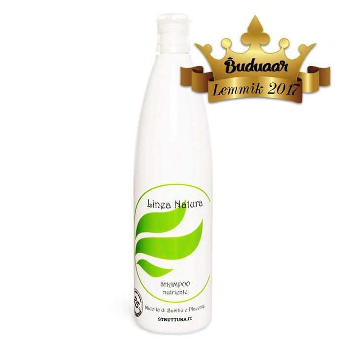 Linea Natura taimse platsenta ja bambuseekstraktiga šampoon (500 ml)