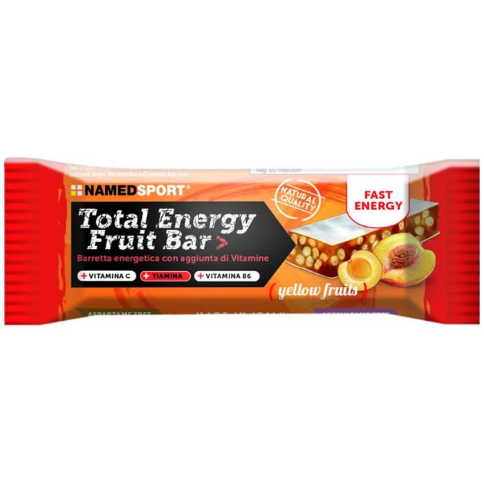 NamedSport Total Energy Fruit bar energiabatoon, Yellow Fruits (35 g)