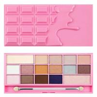 Makeup Revolution I Heart Makeup lauvärvipalett, Chocolate Pink Fizz (22 g)