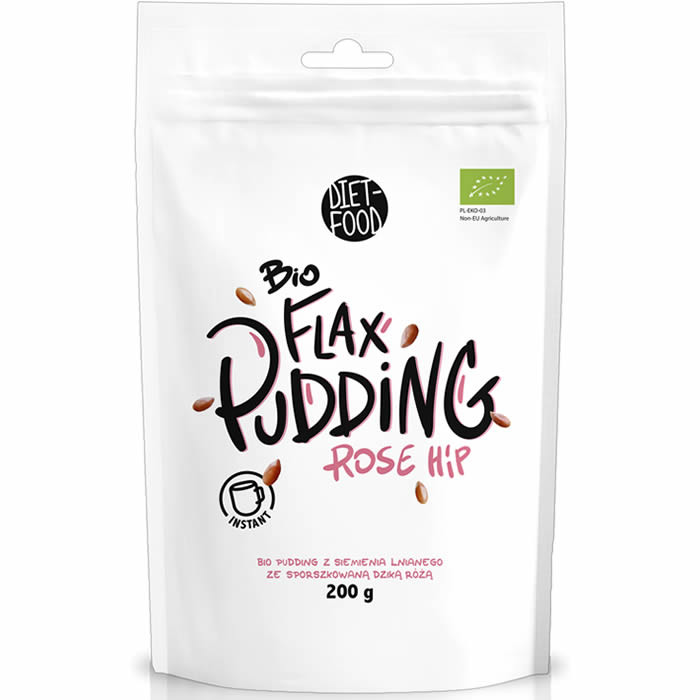 Diet Food Bio Flax Pudding, Kibuvitsa (200 g)