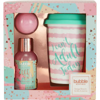 Style & Grace Bubble Boutique Travel Mug kinkekomplekt