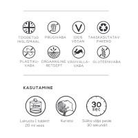 Georganics suuvee tabletid, Rohemünt (180 tk - 3 kuu varu)