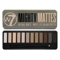 W7 Mighty Matte Natural Nudes lauvärvipalett (15.6 g)