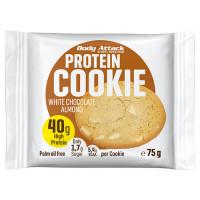 Body Attack Protein Cookie, Valge šokolaadi-mandli (75 g)