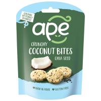 Ape Snacks Crunchy Coconut Bites kookoseampsud, Chia seemnetega (30 g)
