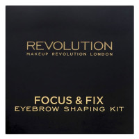 Makeup Revolution Focus & Fix kulmupuudri palett, Medium Dark (5.8 g)