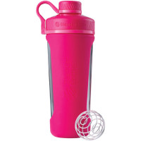 BlenderBottle Radian Glass joogipudel, Roosa (820 ml)