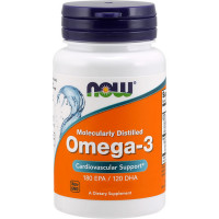 NOW Omega-3 õlikapslid (500 tk)