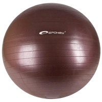 Spokey Fitball võimlemispall, Pruun (Ø 65 cm) + pump