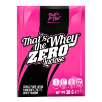 Sport Definition That's The Whey ZERO [THAT'S FOR HER] aminohapetega valgupulber, Vaarika (30 g)