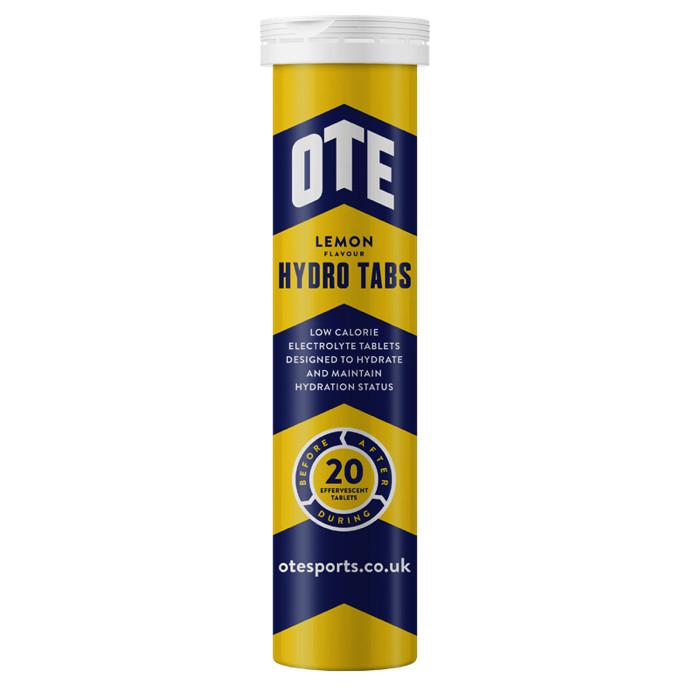 OTE Hydro Tabs spordijoogi tabletid, Lemon (20 x 0.4 g)