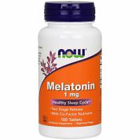 NOW Melatonin 1 mg kapslid (100 tk)