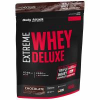 Body Attack Extreme Whey Deluxe valgupulber, Šokolaadikreemi (900 g)