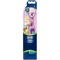 BRAUN Oral-B Stages Power DB4.510 elektriline patareidega hambahari lastele, Disney Princess