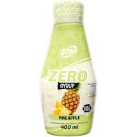6PAK Syrup Zero, Ananassi (400 ml)