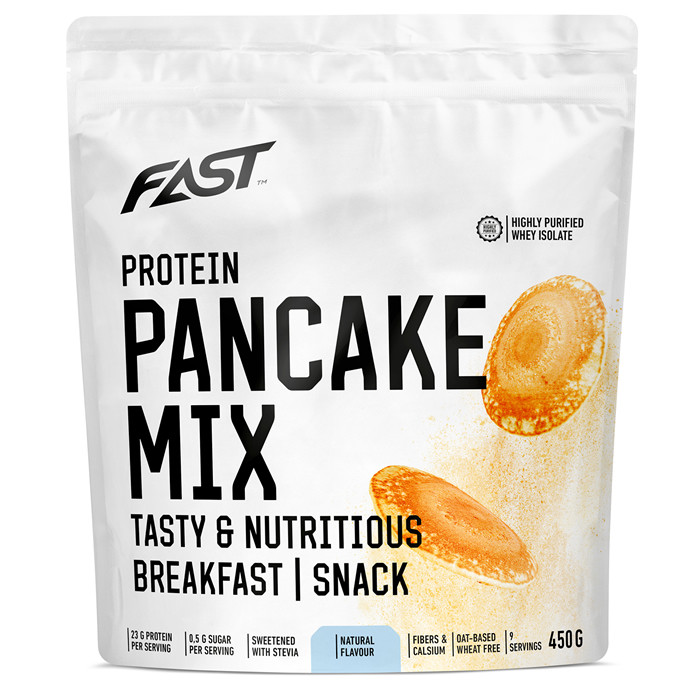 Fast Protein Pancake Mix valgurikas pannkoogijahu, Maitsestamata (450 g)
