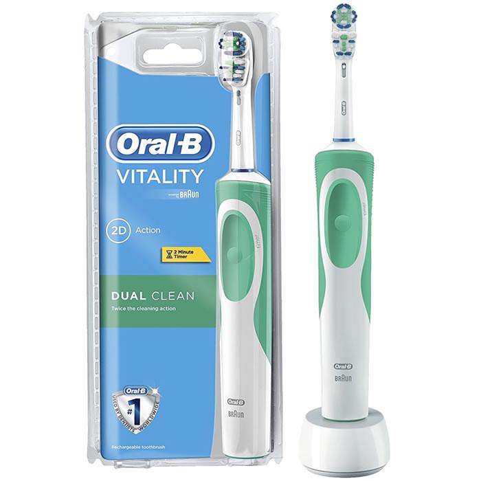 b4ceec2ca74 BRAUN Oral-B Dual Clean elektriline hambahari — Iluversum