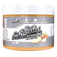 Sport Definition That's the Almond Butter mandlivõi, Crunchy (300 g)