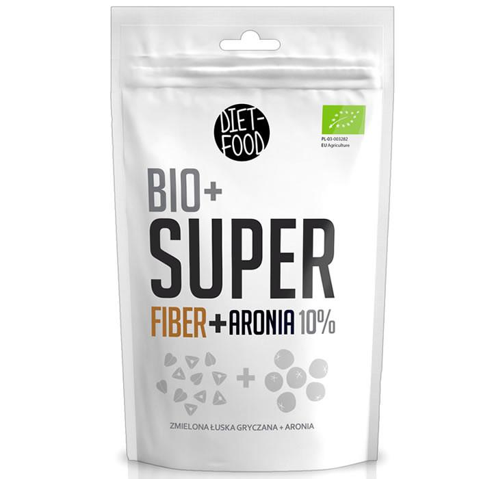 Diet Food Bio + Super Fiber, Aronia supertoiduainete segu (200 g)