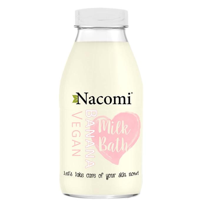 Nacomi Bath Milk vannipiim, Banaani (300 ml)