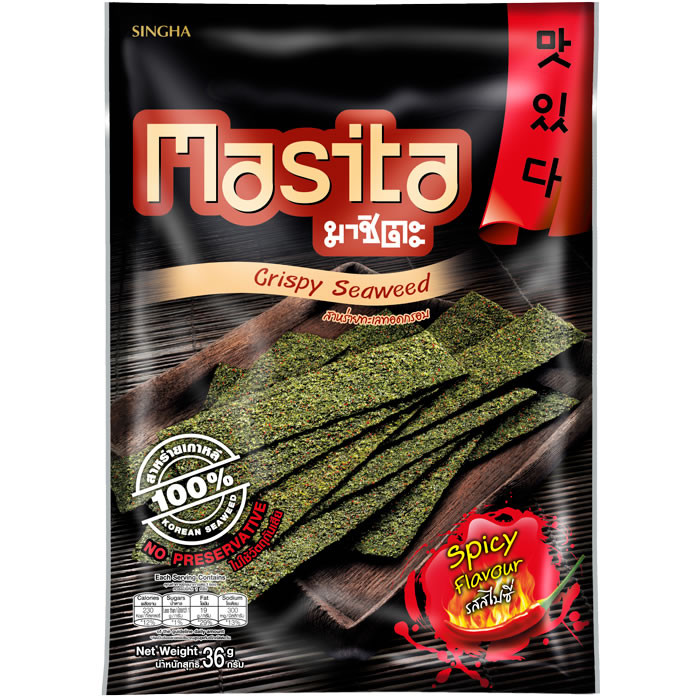 Masita Spicy vürtsikad norilehekrõpsud (36 g), 29.01.2019