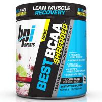 BPI Sports Best BCAA Shredded L-karnitiini ja L-tsitrulliiniga, Cherry Lime (300 g)