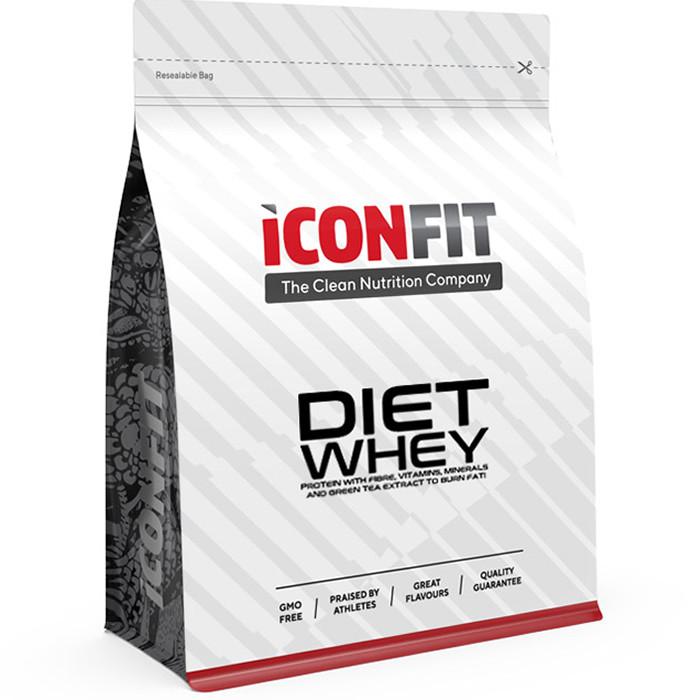 ICONFIT Diet WHEY Protein, Vanilje (1 kg)