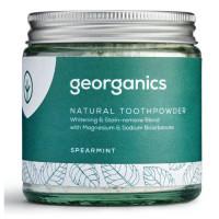 Georganics looduslik hambapulber, Rohemünt (120 ml)