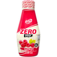 6PAK Syrup Zero, Vaarika (400 ml)