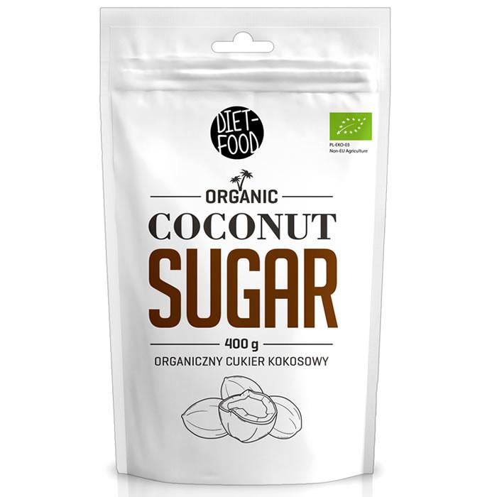 Diet Food Organic Coconut Sugar kookospalmisuhkur (400 g)