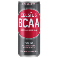 Celsius BCAA, Metsmaasika (330 ml)
