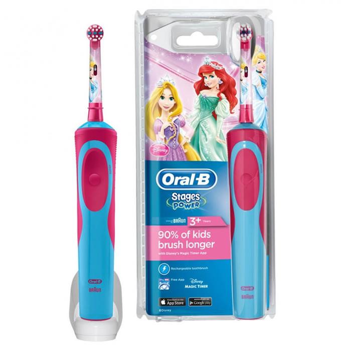ee96b6c57c3 BRAUN Oral-B D12.513.K elektriline laetav hambahari lastele, Disney  Princess ...