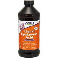 NOW Liquid Hyaluronic Acid hüaluroonhape vedelas vormis (473 ml)