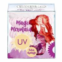 Invisibobble Original Magic Mermaid värvimuutev juuksevõru, Coral Cha Cha (3 tk)